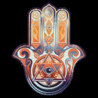Hamsa Hand Of Fatima, Symbol, Auge, Pyramide