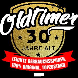 Oldtimer 30 Jahre Alt Leichte Gebrauchsspuren Top