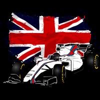 Racecar - Rennauto - Union Jack - UK Flag
