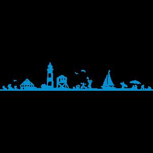 Landschaft - Küste mit Leuchtturm