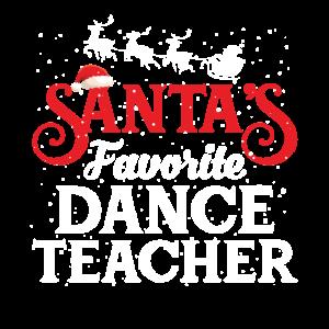 Santa's Favorite Dance Teacher Funny Dancing
