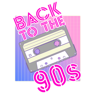 Back to the 90s 90er Jahre Motto Party Kleidung