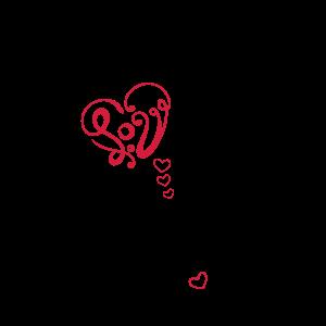 Herz mit Schmetterling, infinity