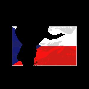 Speedway - Czech Republic Flag