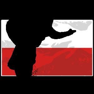 Speedway - Poland Flag