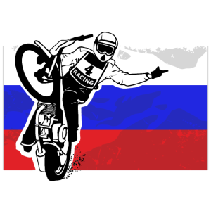 Speedway - Russia Flag