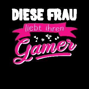 Diese Frau liebt ihren Gamer