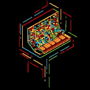 Modularer Mehrfarbensynthesizer