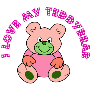 Ich liebe Teddybären