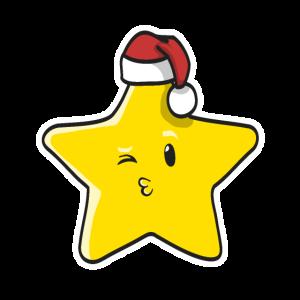weihnachtsstern stern santa geschenk lustig nett