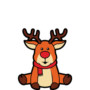Reindeer Ugly Christmas Badass Wanted Rentier Xmas