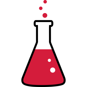 Chemie, Reagenzglas 2farbig