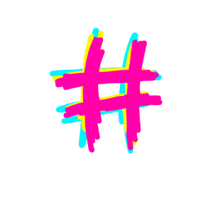 Hashtag - Geschenk