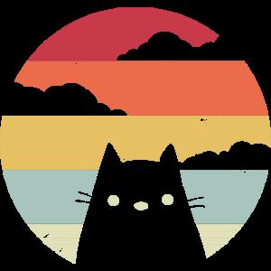 Katze Retro