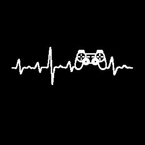 esport liebe gamer gaming herzschlag controller