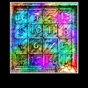 Dürer Sudoku magische Zahlentafel