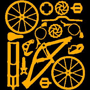 Fahrrad Biker Mountainbike Fahrradtour Sportler