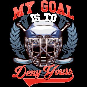 Mein Ziel ist es, Ihren Hockey-Verteidiger zu verweigern