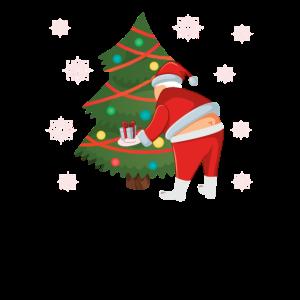 Santa Butt Crack