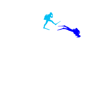 Taucher Scuba Diving Tauchen Evolution Geschenk