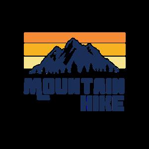 Bergwanderung Wandern Berge Logo