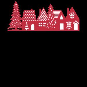 Weihnachtsdorf Rot