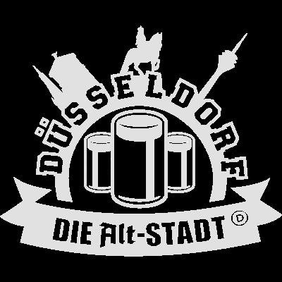 Alt-Stadt Düsseldorf - Es gibt nur eine Alt-Stadt - und das ist Düsseldorf. - witzig,wahrzeichen,sprüche,spruch,slogan,shirt,längste Theke der Welt,lustig,düsseldorfer,cool,cool,Städte-Shirts,Städte-Shirt,Städte,Stadt-Shirts,Stadt-Shirt,Stadt,Rhein,Königsallee,Kö,Düsseldorf,Düssel,Bier,Altstadt,Altbier
