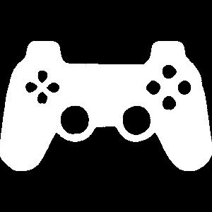 Game Controller weiss
