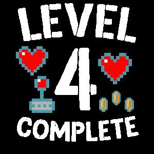 Level 4 Schließe das Video zum 4. Hochzeitstag ab