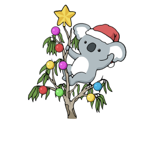 Koala Weihnachten Lustiges Weihnachts Geschenk