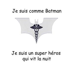 t shirt infirmiere Super-Héros