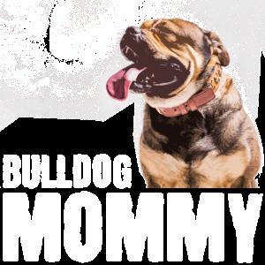 bulldogge mutter mommy bulldog