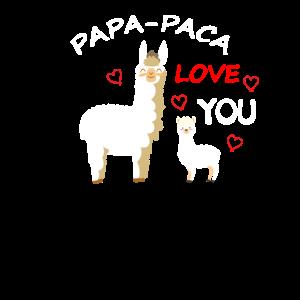 Alpaka Papa love you Papa Paca
