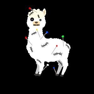 Alpaka Voodoo Puppe Alpaca
