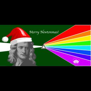 Frohe Newtonmas