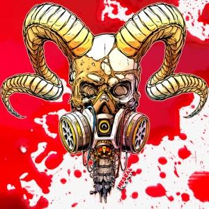 Teschio del diavolo - Devil's skull by Mescal