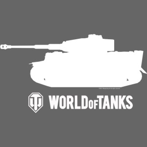 World of Tanks - Tiger Silhouette White