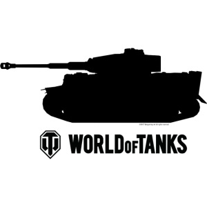 World of Tanks - Tiger Silhouette Black