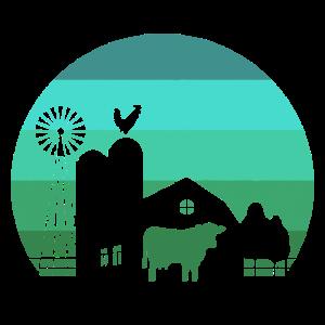 Bauernhof Gutshof Landwirtschaft Bauernhof - Desig