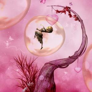 In eine Blase tanzen
