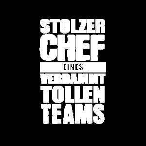 Stolzer Chef eines verdammt tollen Teams