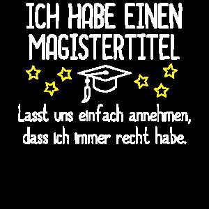 Magister Geschenk
