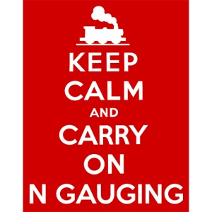 Keep Calm And Carry On N Gauging