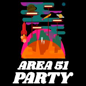 Area 51 Party Alien Space