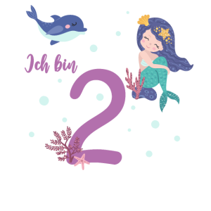 zweiter Geburtstag 2 Jahre alt Geburtstagsshirt