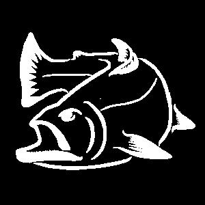 Lachs Logo - Lachsangeln