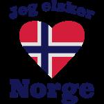 I love Norway - Jeg elsker Norge - Norwegen Spruch