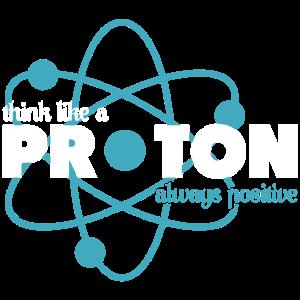 Wissenschaftler Proton Geschenk