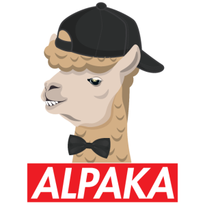 Alpaka Alpaca Stylisch Cool shirt