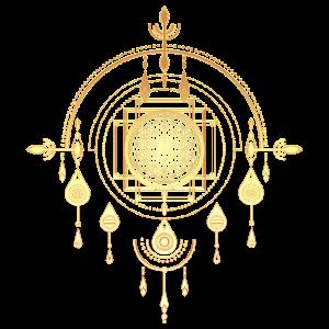 Amulett, Traumfänger, Blume des Lebens, Geometrie